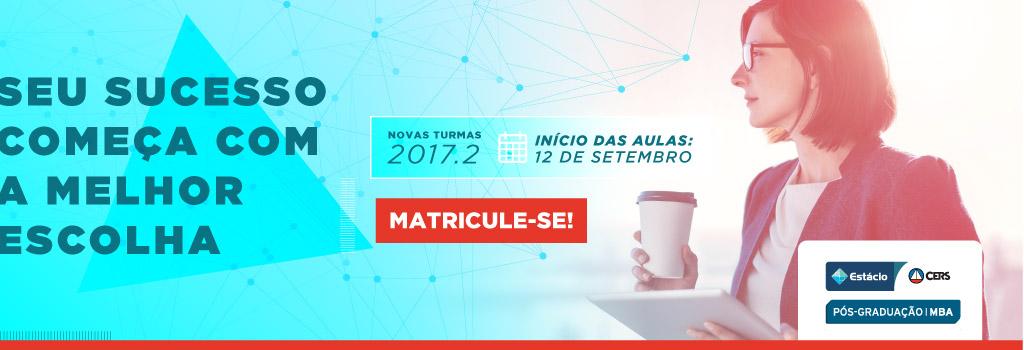 Campanha 2017.2 | LANÇAMENTO
